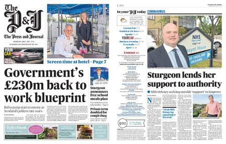 The Press and Journal Moray – June 17, 2020