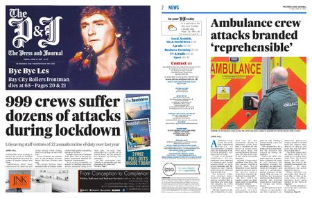 The Press and Journal Moray – April 23, 2021