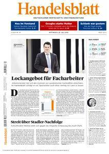 Handelsblatt - 25. Juli 2018