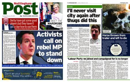 Nottingham Post – February 19, 2019