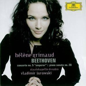 Hélène Grimaud - Beethoven: Piano Concerto No.5  Emperor, Piano Sonata No.28 (2007) (Repost)