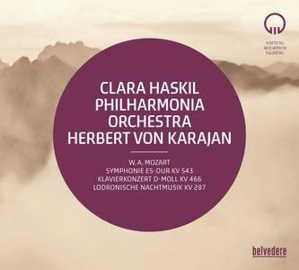 Philharmonia Orchestra, Herbert von Karajan & Clara Haskil - Mozart: Symphony No. 39, K. 543 (2017)