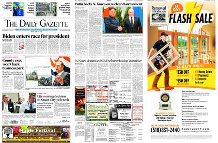 The Daily Gazette – April 26, 2019