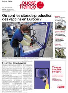 Ouest-France Édition France – 31 mars 2021