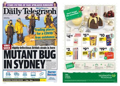 The Daily Telegraph (Sydney) – December 22, 2020