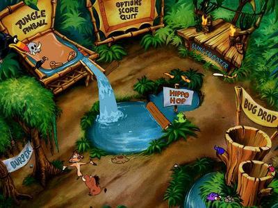 Disney's Timon - Pumbaa's Jungle Games For Kids