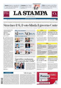 La Stampa Torino Provincia e Canavese - 22 Settembre 2020