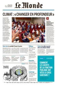 Le Monde du Mardi 23 Juin 2020
