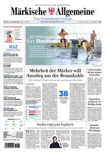 Neue Oranienburger Zeitung - 15. November 2017