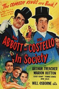 Abbott and Costello - In Society (1944)