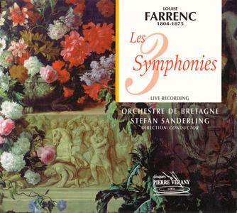 Louise Farrenc - Les 3 Symphonies - Orchestre de Bretagne, Stefan Sanderling (2001) {2CD Set Pierre Verany PV700030}