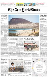 International New York Times - 21 July 2020