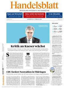 Handelsblatt - 6 Februar 2020