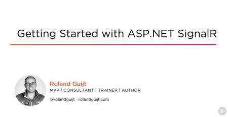 Getting Started with ASP.NET SignalR