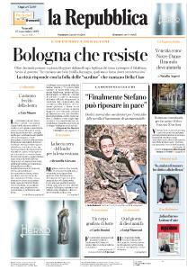 la Repubblica - 15 Novembre 2019