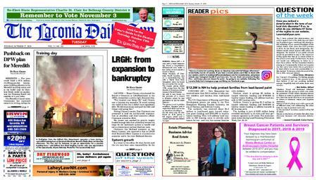 The Laconia Daily Sun – October 27, 2020