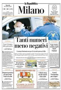 la Repubblica Milano - 24 Marzo 2020