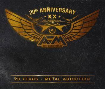 VA - 20 Years: Metal Addiction (2016) {3CD Box Set}