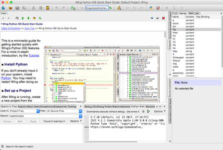 Wingware Wing IDE Professional 6.1.3-1 macOS
