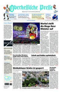 Oberhessische Presse Marburg/Ostkreis - 26. Februar 2018