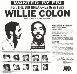 Willie Colon - The Big Break (1970) {Fania 4639509019-2 rel 2010}