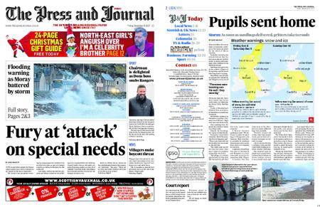 The Press and Journal Moray – December 08, 2017