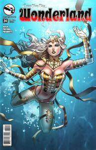 Grimm Fairy Tales Presents Wonderland V2 0342015 2 covers Digi-Hybrid
