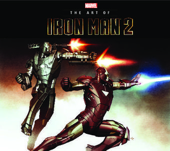 Marvel-Art Of Marvel Studios Iron Man 2 2018 Retail Comic eBook