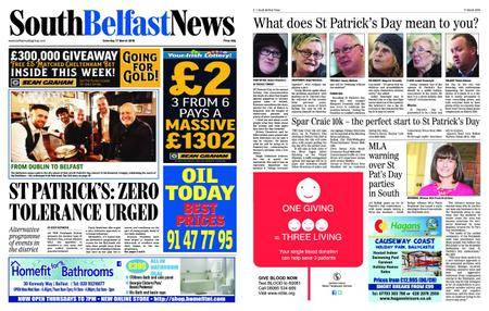 South Belfast News – March 20, 2018