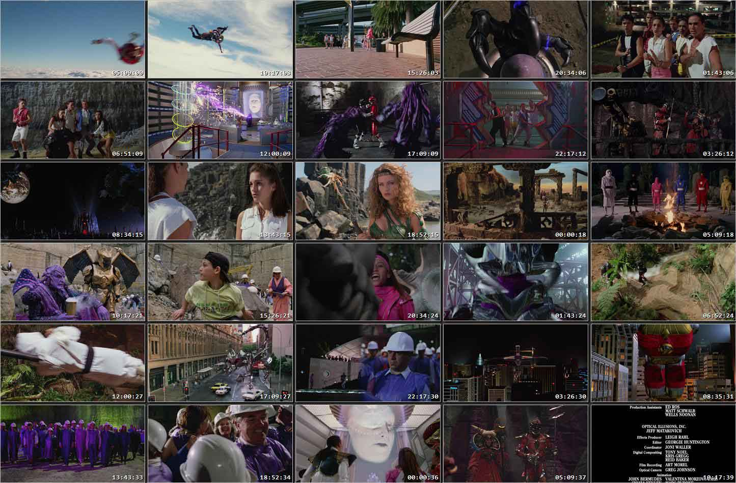 mighty morphin power rangers the movie 720p