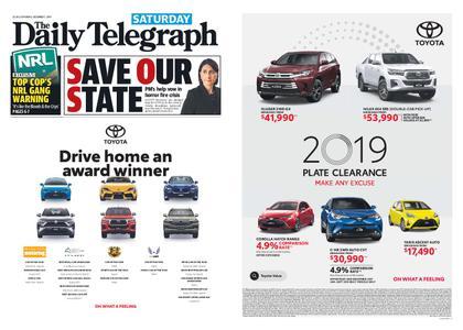The Daily Telegraph (Sydney) – December 07, 2019