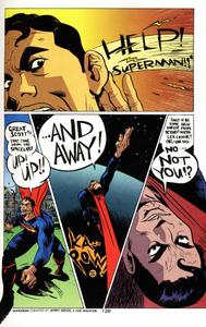 Paul Pope-Help! Superman!! from Bizarro Comics, DC 2001