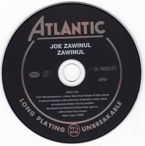 Joe Zawinul - Zawinul (1970) {2012 Japan Jazz Best Collection 1000 Series 24bit Remaster WPCR-27100}