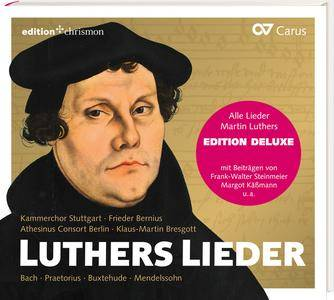 Klaus-Martin Bresgott & Frieder Bernius - Luthers Lieder: Alle Lieder Martin Luthers (2016)