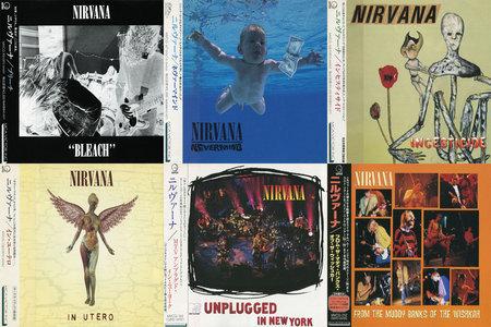Nirvana - Discography (1989-1996) [Japanese Original Pressing] Re-up