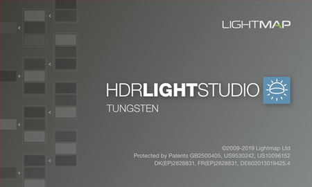 Lightmap HDR Light Studio Tungsten 6.2.0.2019.0719