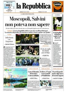 la Repubblica – 13 luglio 2019