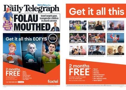 The Daily Telegraph (Sydney) – June 17, 2019