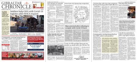 Gibraltar Chronicle – 28 March 2020