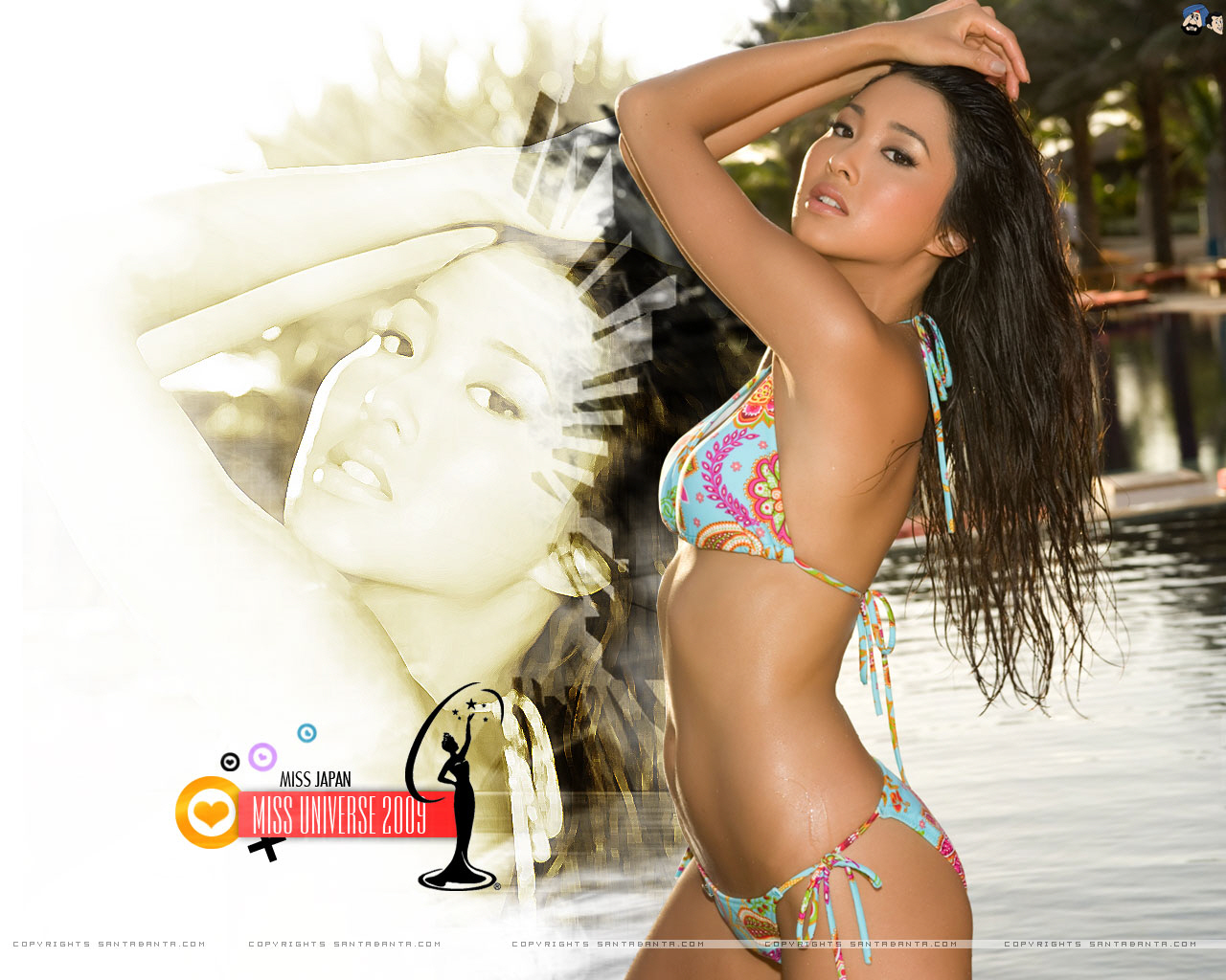Hot Babes Wallpapers Pack №234 (Miss Universe 2009 - 3)