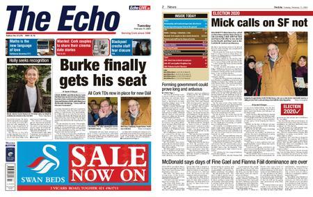 Evening Echo – February 11, 2020