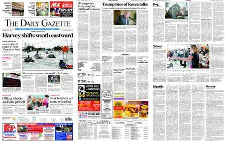 The Daily Gazette – August 31, 2017