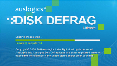 Auslogics Disk Defrag Ultimate 4.10.00