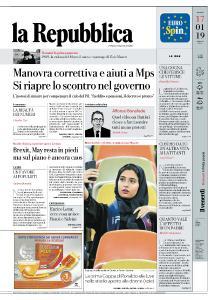 la Repubblica - 17 Gennaio 2019