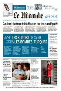 Le Monde du Samedi 12 Octobre 2019