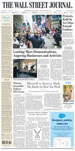 The Wall Street Journal – 03 June 2020