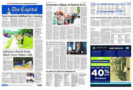 The Capital – July 31, 2020