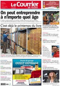 Le Courrier de l'Ouest Angers - 02 mars 2018