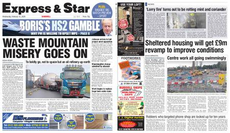Express and Star Sandwell Edition – February 12, 2020