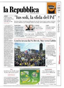 la Repubblica - 24 Marzo 2019